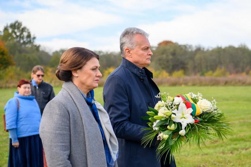 Prezidentas Gitanas Nausėda su žmona Diana