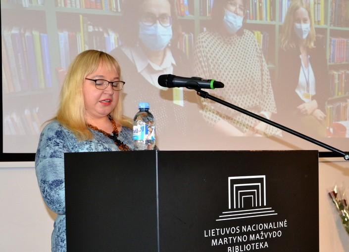 Sonata Nognienė biblioterapijos kursuose